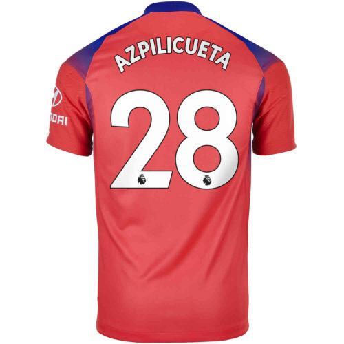 2020/21 Nike Cesar Azpilicueta Chelsea 3rd Jersey
