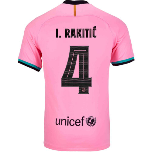 2020/21 Nike Ivan Rakitic Barcelona 3rd Jersey