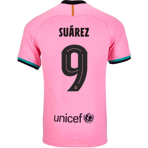 2020/21 Nike Luis Suarez Barcelona 3rd Jersey