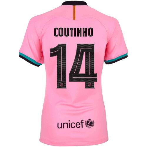 2020/21 Womens Nike Philippe Coutinho Barcelona 3rd Jersey