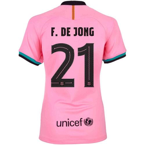 2020/21 Womens Nike Frenkie de Jong Barcelona 3rd Jersey