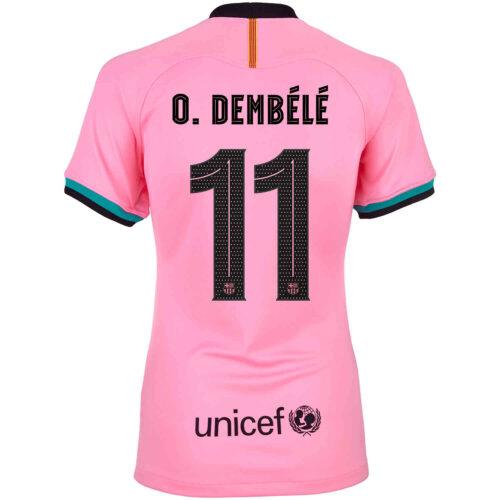 2020/21 Womens Nike Ousmane Dembele Barcelona 3rd Jersey