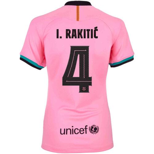 2020/21 Womens Nike Ivan Rakitic Barcelona 3rd Jersey