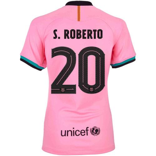 2020/21 Womens Nike Sergi Roberto Barcelona 3rd Jersey