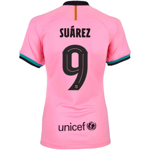 2020/21 Womens Nike Luis Suarez Barcelona 3rd Jersey