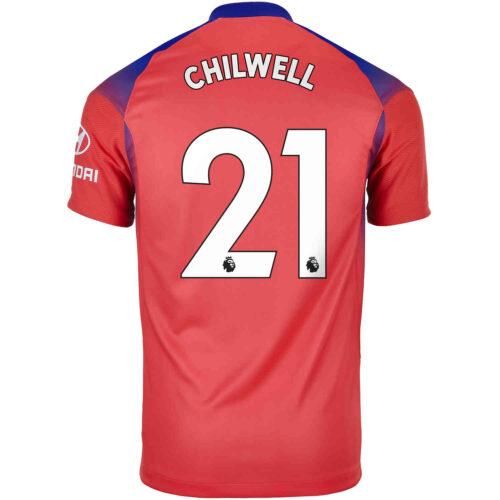 2020/21 Kids Nike Ben Chilwell Chelsea 3rd Jersey