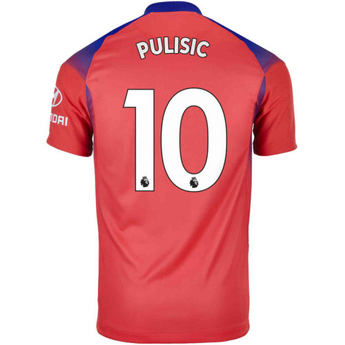 2020/21 Kids Nike Christian Pulisic Chelsea 3rd Jersey
