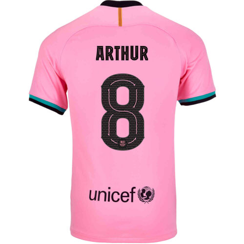 2020/21 Kids Nike Arthur Barcelona 3rd Jersey