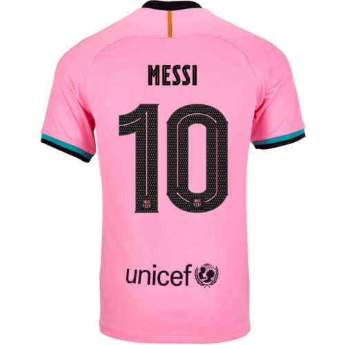 2020/21 Kids Nike Lionel Messi Barcelona 3rd Jersey