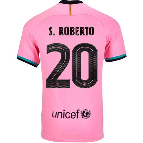 2020/21 Kids Nike Sergi Roberto Barcelona 3rd Jersey