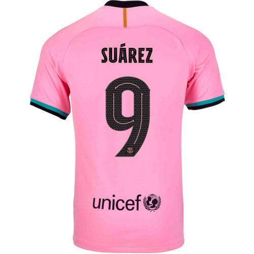 2020/21 Kids Nike Luis Suarez Barcelona 3rd Jersey