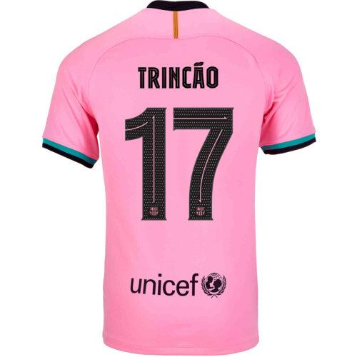 2020/21 Kids Nike Francisco Trincao Barcelona 3rd Jersey