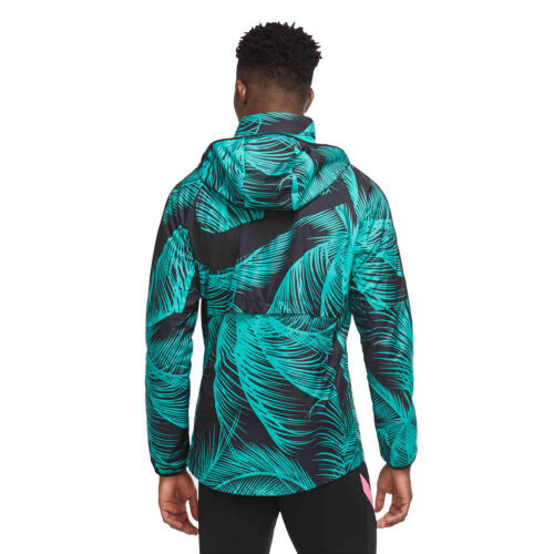 Nike Barcelona AWF LTE Jacket – New Green/Black/Pink Beam