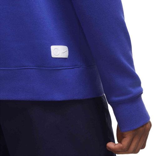 Nike Chelsea Pullover Fleece Hoodie – Light Concord/Ember Glow/Ember Glow