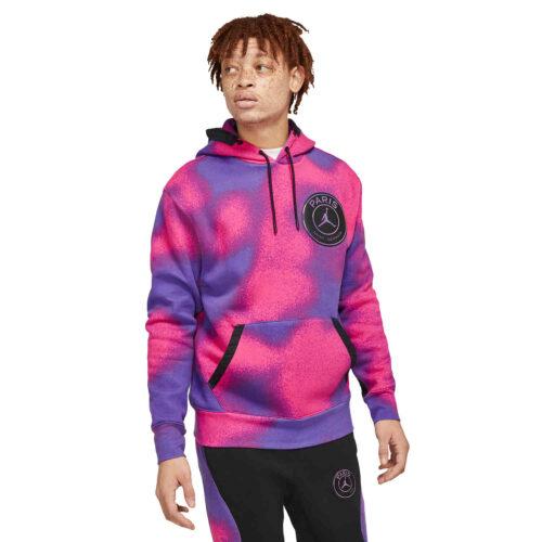 Nike PSG Fleece Hoodie – Psychic Purple/Hyper Pink/Black