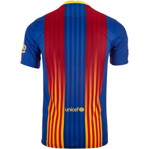 2020/21 Kids Nike Barcelona Senyera 4th Jersey
