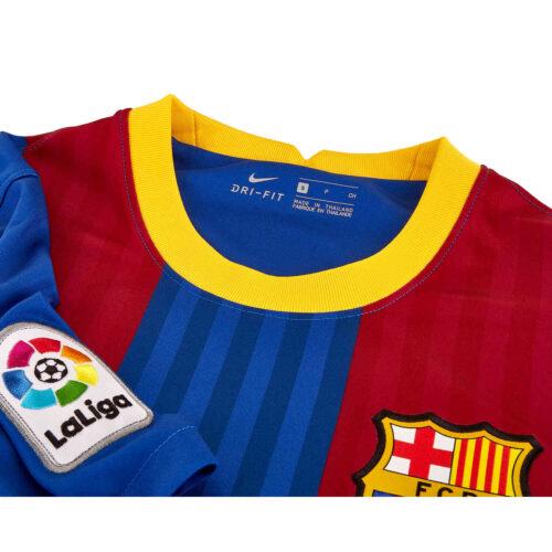 2020/21 Kids Nike Frenkie De Jong Barcelona El Clasico Jersey