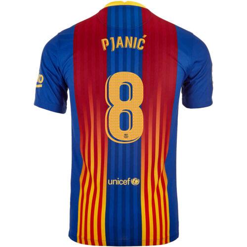 2020/21 Kids Nike Miralem Pjanic Barcelona El Clasico Jersey