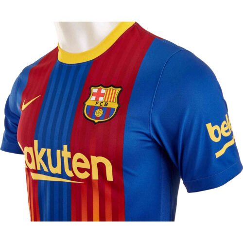 2020/21 Nike Barcelona Senyera 4th Jersey