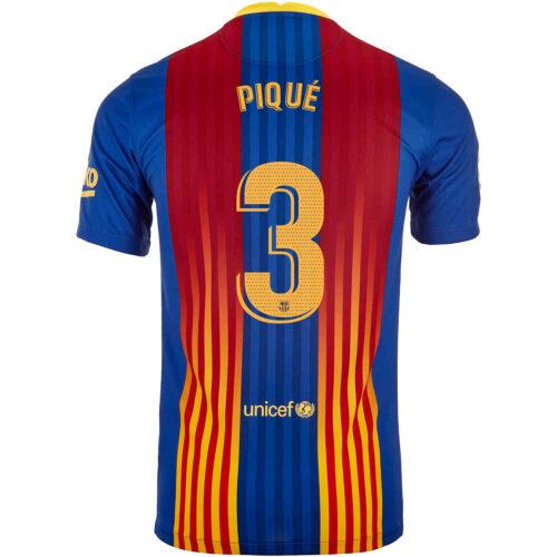 2020/21 Nike Gerard Pique Barcelona El Clasico Jersey