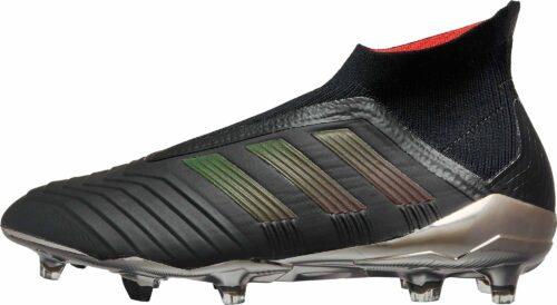 adidas Predator 18  FG – Black/Real Coral
