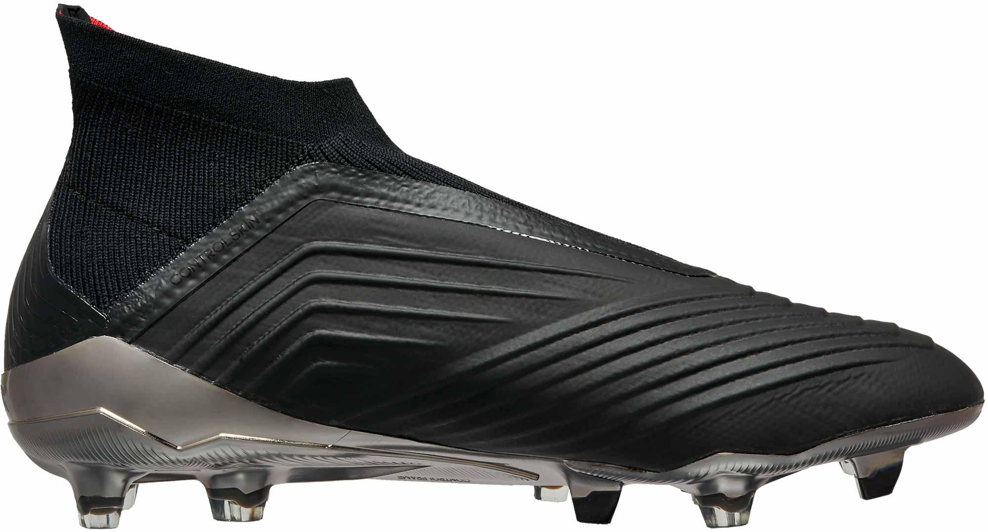 adidas Predator 18 FG - Black adidas Soccer Cleats c574aa73e