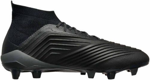 adidas Predator 18.1 FG – Black/Real Coral