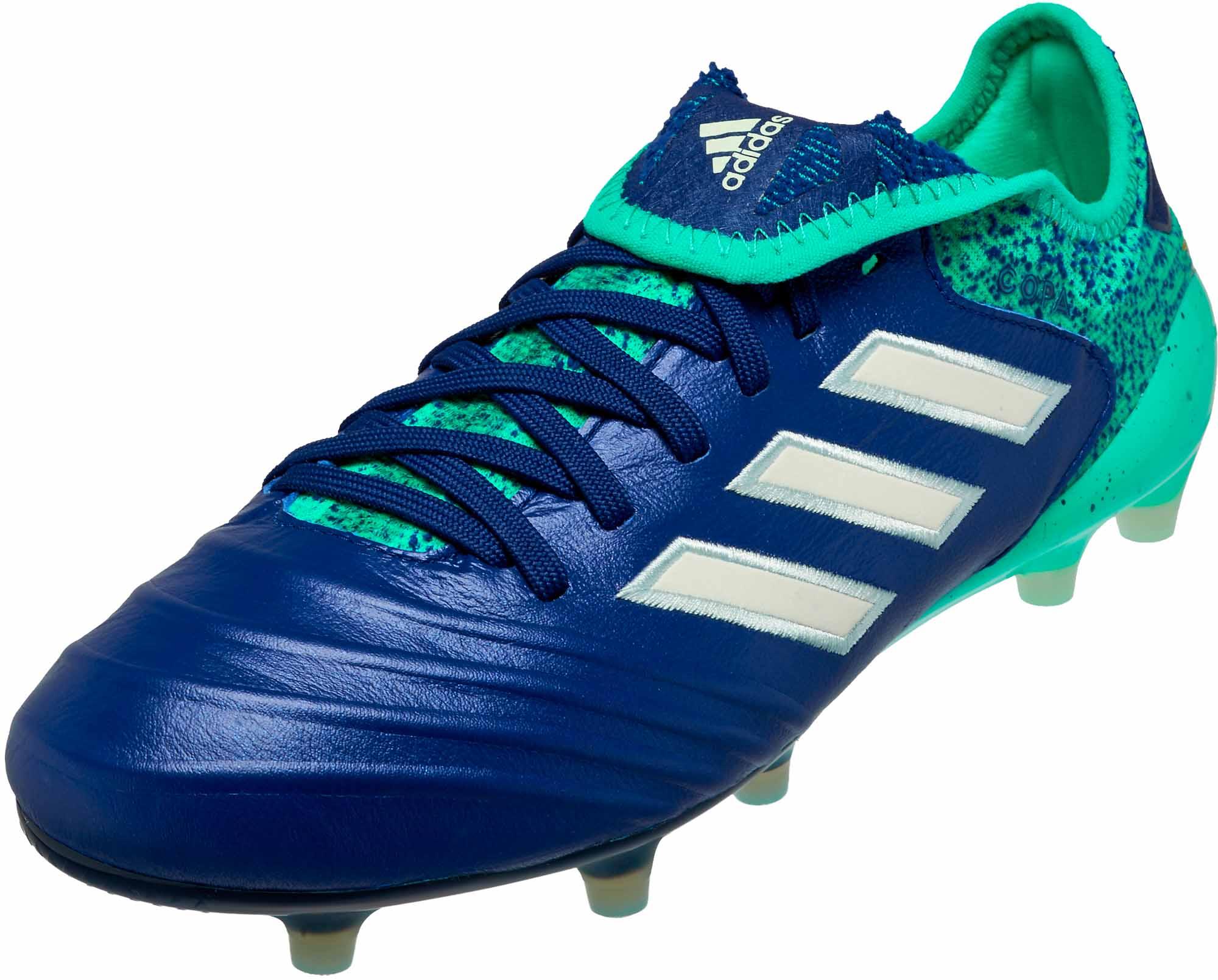 ff529c78466 adidas Copa 18.1 FG - Aero Green - SoccerPro.com