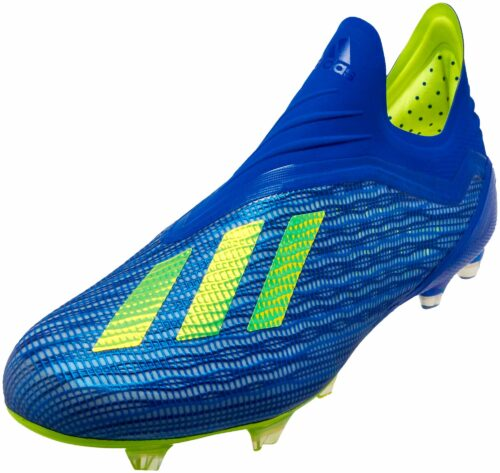 adidas X 18+   FG – Football Blue/Solar Yellow