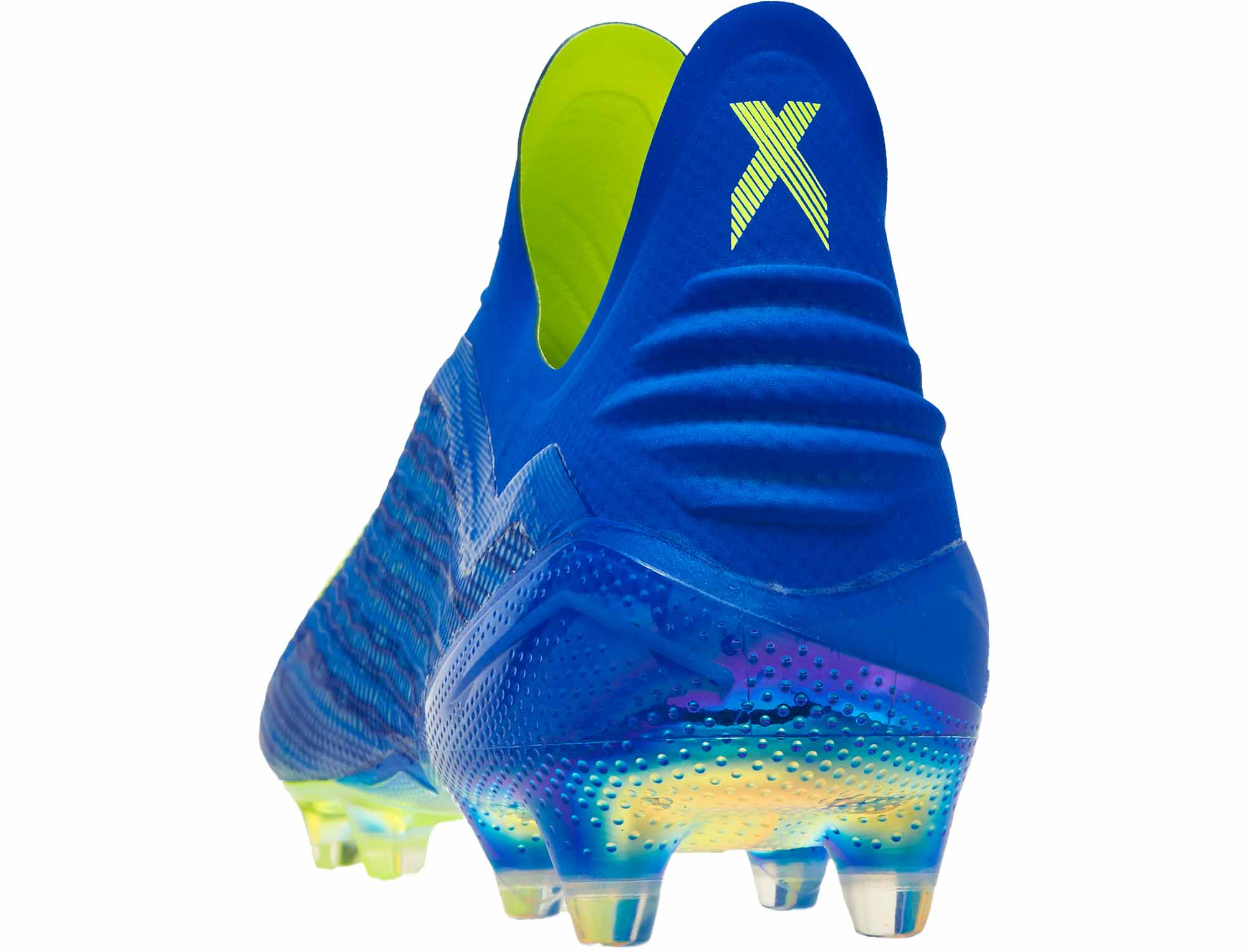 timeless design 4def1 2de0e adidas X 18 FG – Football BlueSolar Yellow