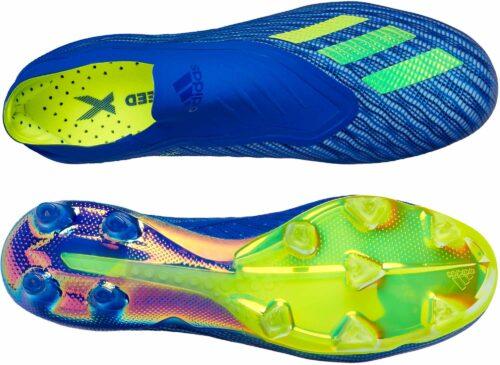 adidas X 18+   FG – Football Blue/Solar Yellow