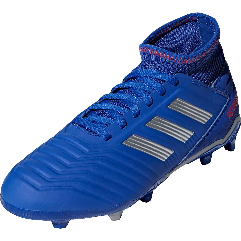 adidas Kids' Predator 19.3 Firm Ground Soccer Shoe