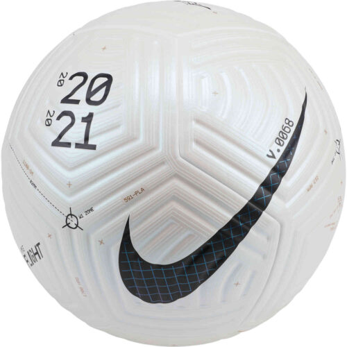 Nike Flight Premium Match Soccer Ball – White & Black