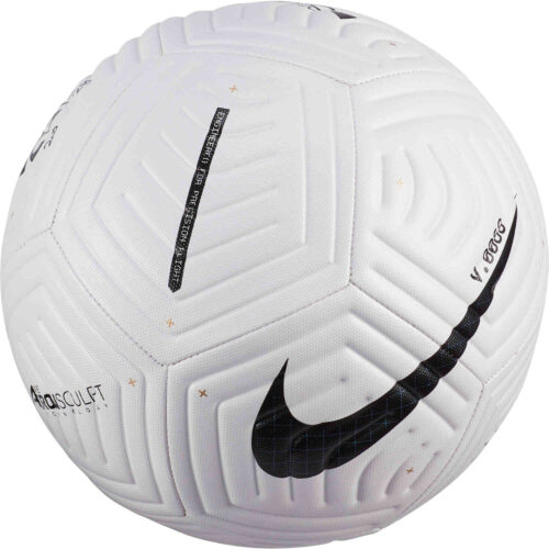Nike Flight Club Soccer Ball – White & Black