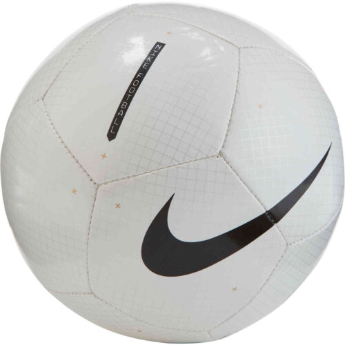 Nike Flight Skills Ball – White & Black with Black