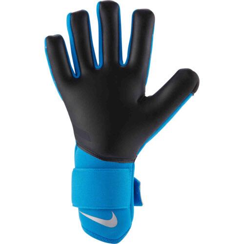 Nike Phantom Shadow Goalkeeper Gloves – Photo Blue & Black with Silver