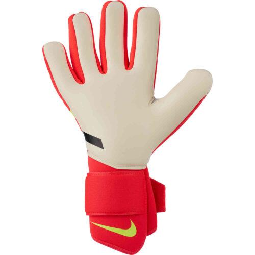 Nike Phantom Shadow Goalkeeper Gloves – Bright Crimson & White with Volt