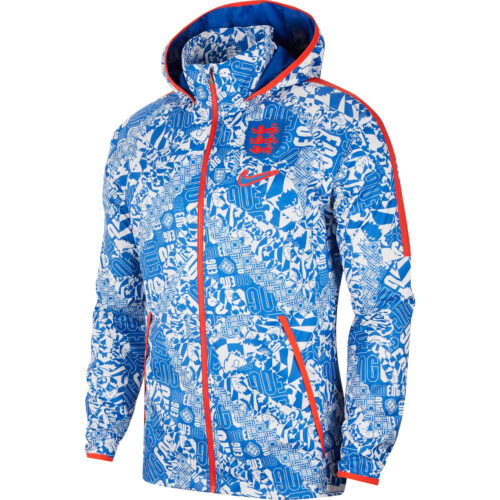 Nike England AWF LTE Jacket – White & Sport Royal