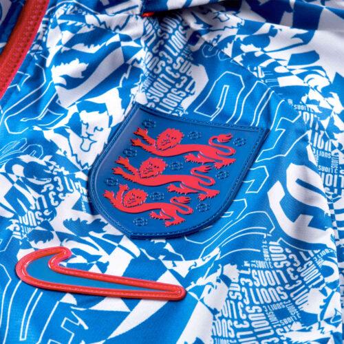 Nike England AWF LTE Jacket – White & Sport Royal