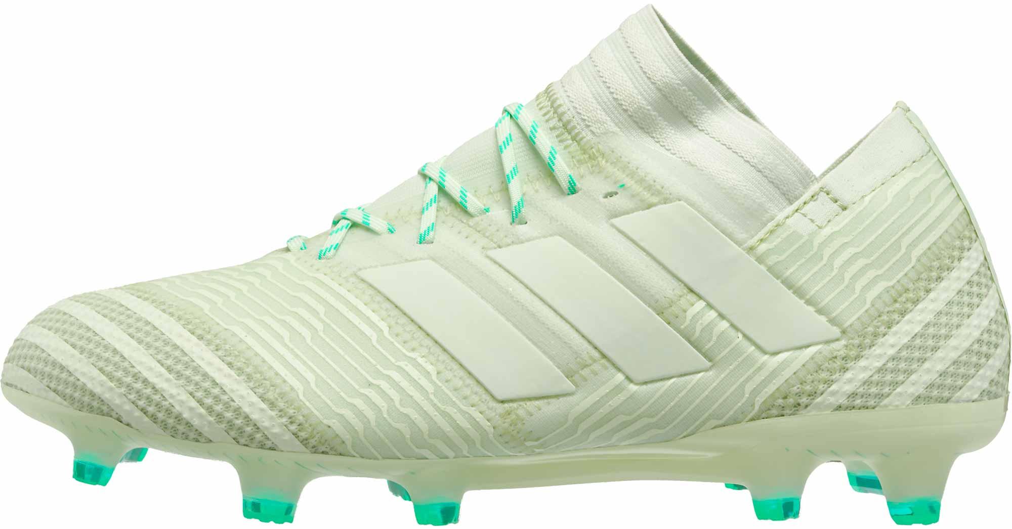 2d3353323 adidas Nemeziz 17.1 FG - Aero Green - SoccerPro.com