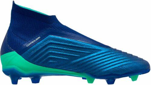 adidas Kids Predator 18  FG – Unity Ink/Aero Green