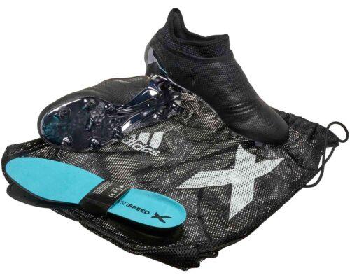 adidas X 17  FG – Black/Super Cyan