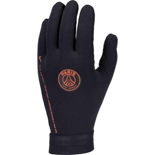 Nike x Jordan PSG Hyperwarm Player Gloves – Black/Infrared