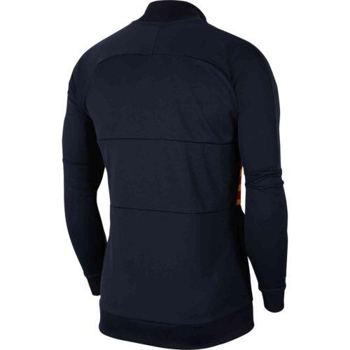 Nike Barcelona El Clasico I96 Track Jacket – Dark Obsidian/Varsity Maize