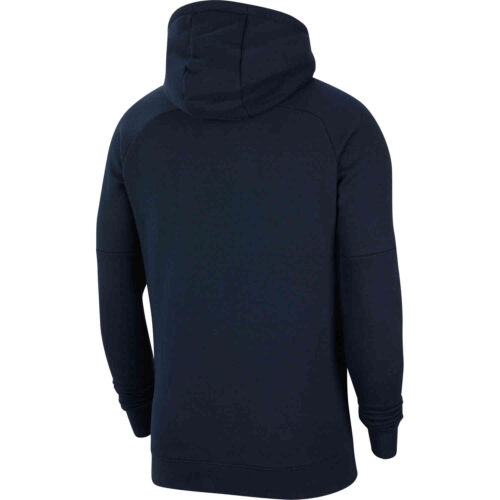 Nike Barcelona El Clasico Pullover Fleece Hoodie – Dark Obsidian/Varsity Maize