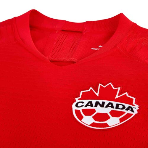 2019 Womens Nike Canada Home Match Jersey