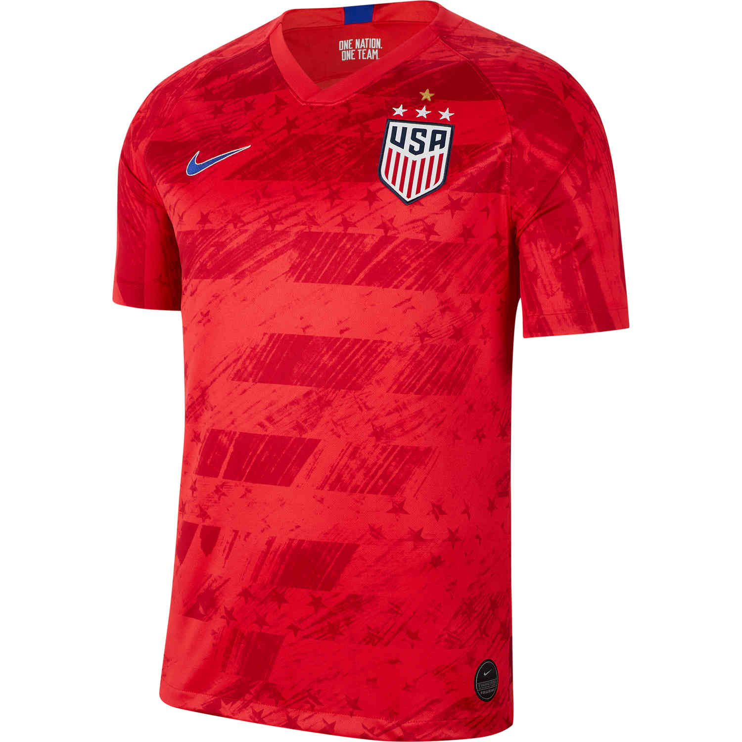 outlet store c79f7 0a139 2019 Nike 4-Star Men's USWNT Away Jersey