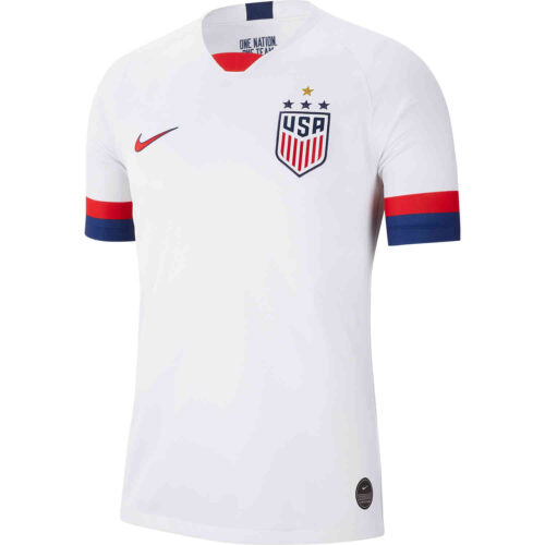 2019 Men's Nike 4-Star USWNT Home Jersey