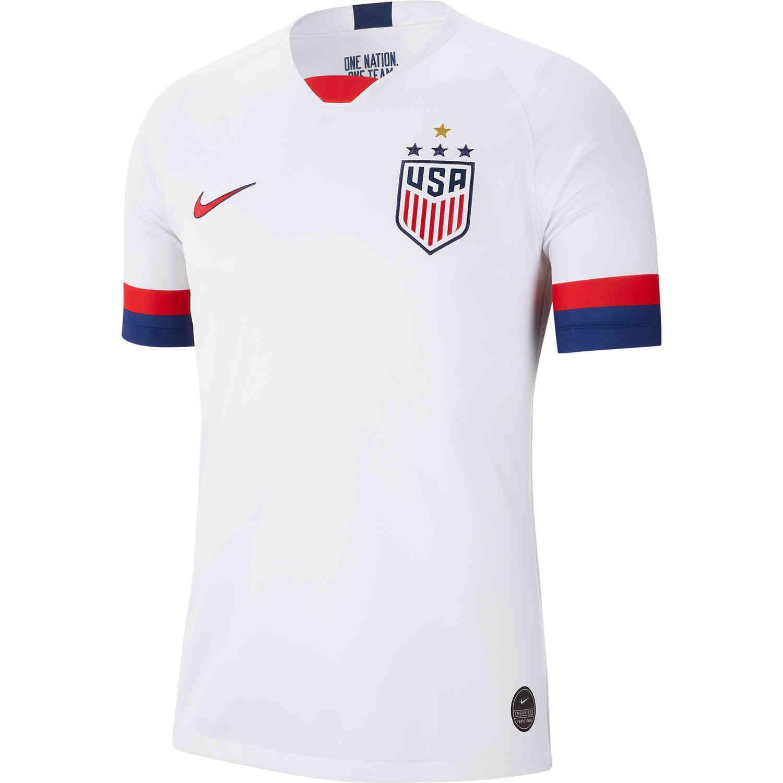 san francisco f667a 7fa49 2019 Men's Nike 4-Star USWNT Home Jersey