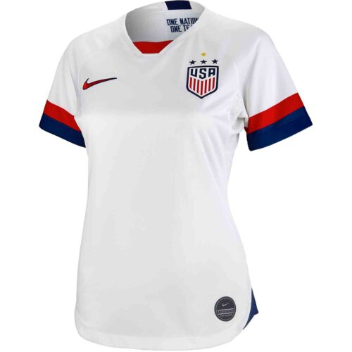 2019 Womens Nike 4-Star USWNT Home Jersey